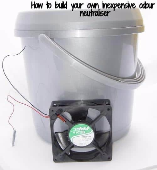 How to build your own inexpensive odour neutraliser