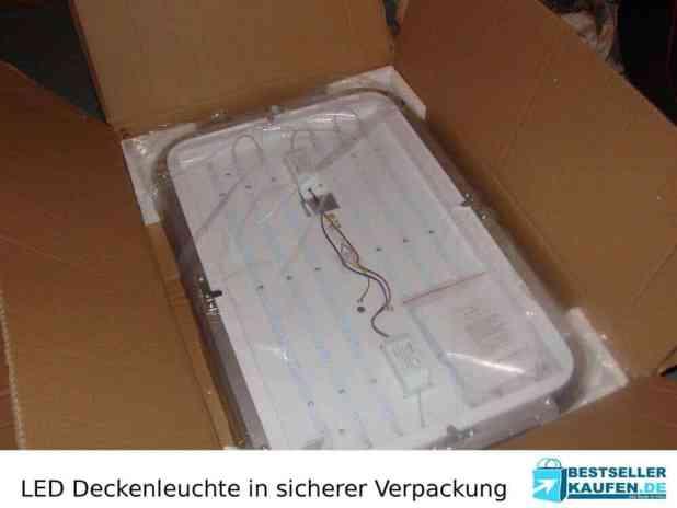 Verpackung LED Deckenleuchte