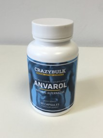 Crazy Bulk Anvarol bottle