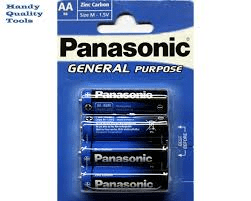 Panasonic R6 AA Blue