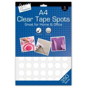 Clear Tape Spots