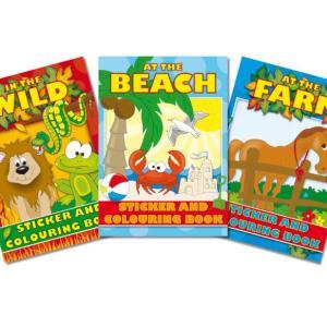 Colouring & Sticker Book
