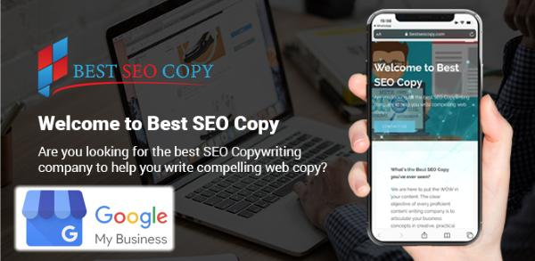 best seo copyrighting GMB google my business optimization 97