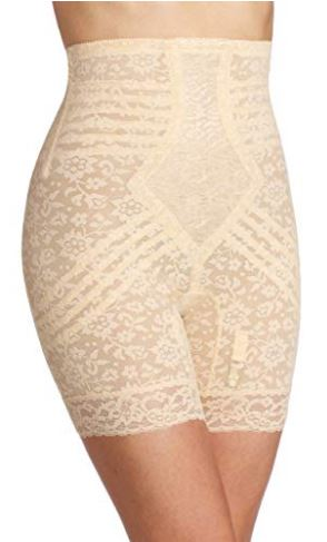 Rago Plus Size Hi-Waist Long Leg Shaper