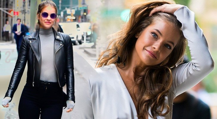 Barbara Palvin Shows us How she Chooses her Outfit