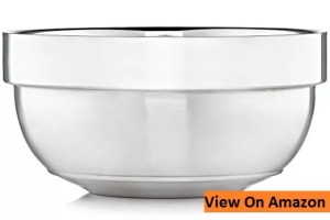 Justice Shaving Company Shave Bowl - Dual Layer Stainless Steel