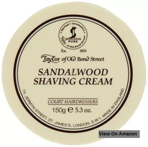 Sandalwood Shaving Cream Bowl