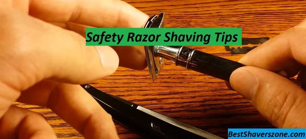 Safety Razor Shaving Tips
