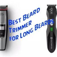 Beard Trimmer for Long Beards