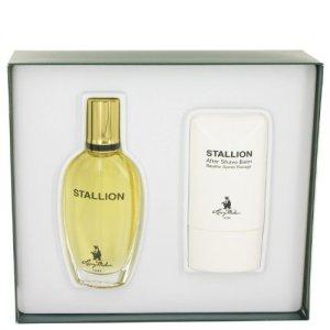 Stallion by Larry Mahan Gift Set — 1.7 oz Eau De Cologne Spray + 2 oz After Shave Balm