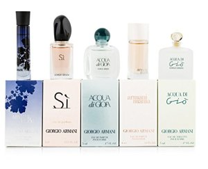 Giorgio Armani Variety 5 Piece Mini Gift Set for Women