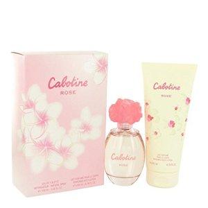 Cabotine Rose by Parfums Gres Gift Set — 3.4 oz Eau De Toilette Spray + 6.7 oz Body Lotion for Women