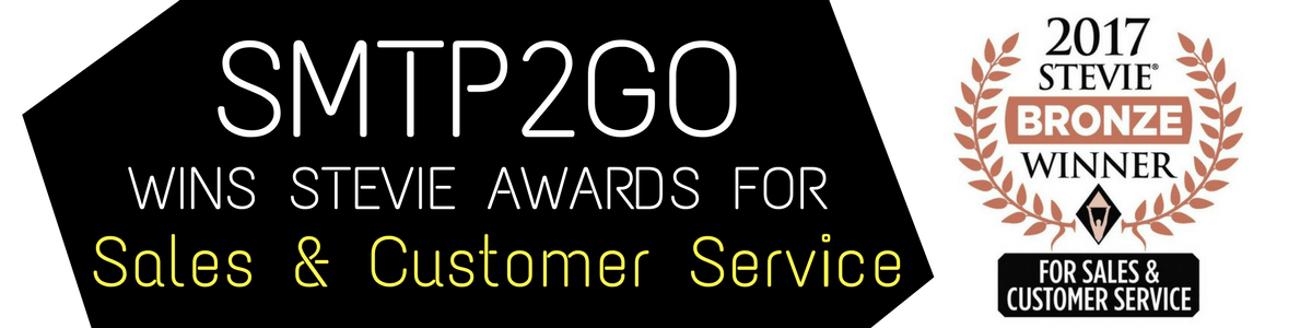 SMTP2GO Wins STEVIE Awards