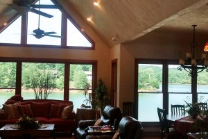 Lake view without the glare thanks to window film