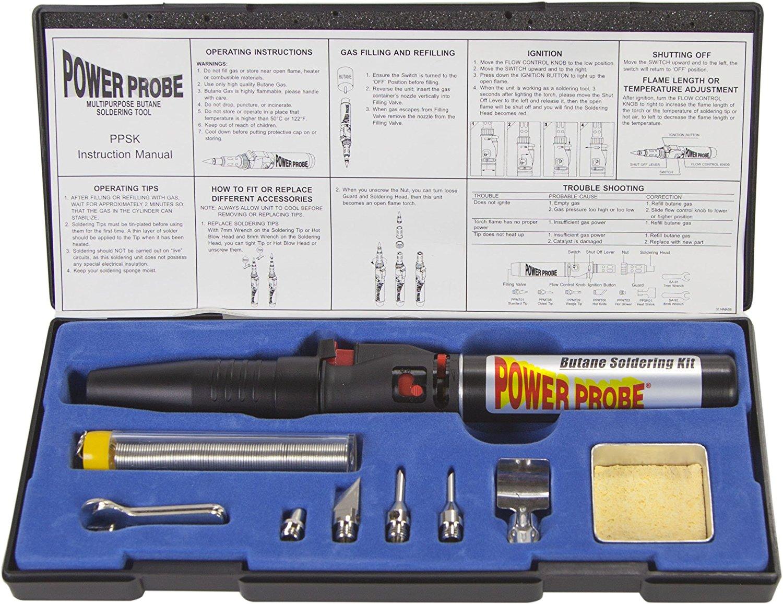 Power Probe PPSK Butane Soldering Kit Review | Best