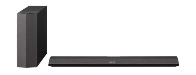 Sony HT-CT370 2.1 Channel 300W Sound Bar with Wireless Subwoofer
