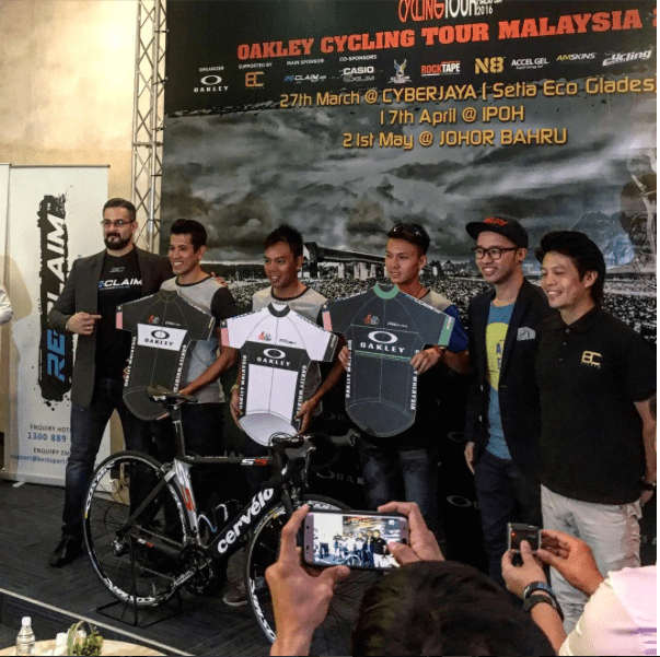 The First Oakley Cycling Tour Malaysia - 3 Cities 3 Races - Sports ... 626c7b93f