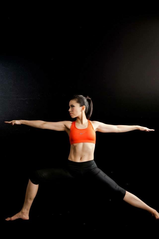 Warrior II Yoga Position