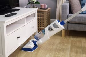 Vacuum and Steam Cleaner Combo