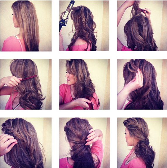 Easy Hairstyles For Eid 2016 2017 Step By Step Tutorials