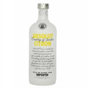 Absolut citron vodka - Copy