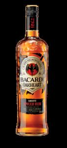 Bacardi Oakheart Spiced Rum - Copy