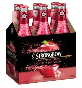 Strongbow Cherry Blossom Hard Cider - Copy