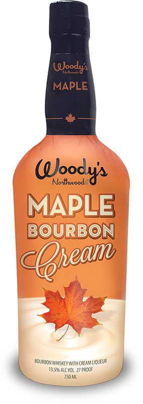woodys northwoods maple bourbon cream is one of three bourbon creams ...