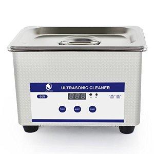 Skymen Professional Mini Ultrasonic Cleaner Bath JP-008 with Digital Timer 800ml 35W 40kHz