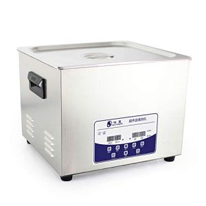 LX 15L Professional Ultrasonic Cleaner Machine with Digital Touchpad Timer Heated Stainless Steel Tank Capacity Adjustable