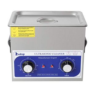 230HT 120W 3L 40kHz 110V 60Hz Stainless Steel Ultrasonic Cleaner US Plug Quality Ultrasonic Jewelry Cleaner, Portable Ultrasonic Cleaning Machine