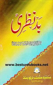 Bad Nazri title By Maulana Zulfiqar Ahmad Naqshbandi بدنظری