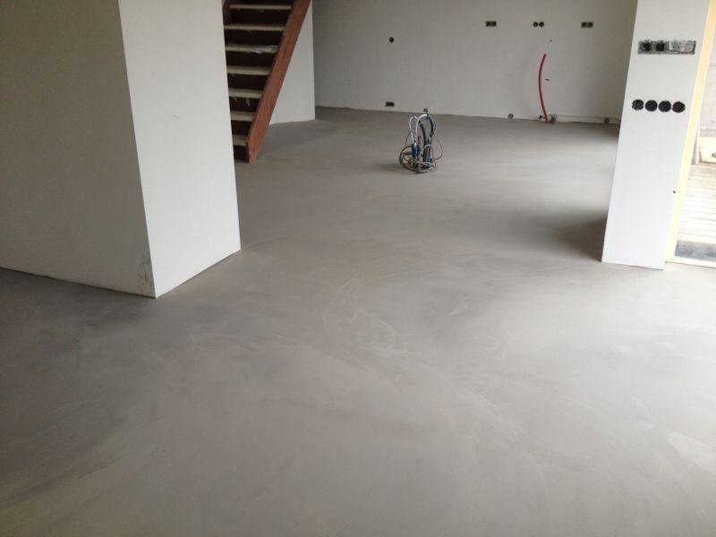 Betoon Look Vloer : Betonlook vloer nieuwbouw best vloerrenovatie