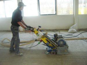 betonvloer frezen