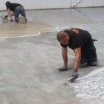 Industrievloer schrapen/repareren