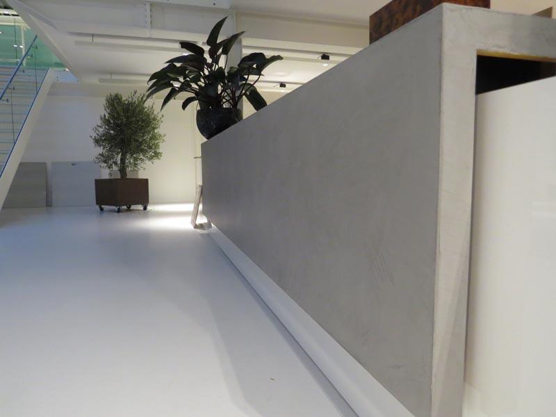 Microcement meubel showroom2