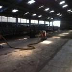 Schuren betonvloer Spaarndam