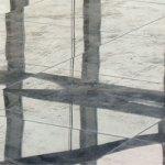Natuursteen onderhoud: graniet schuren, polijsten en impregneren (granieten vloeren renoveren)