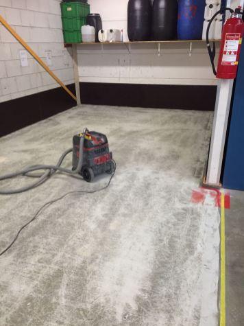 Werkzaamheden epoxy gietvloer