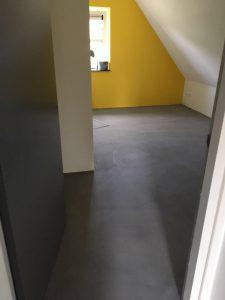 Microcement vloer De Wijk