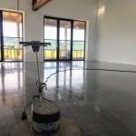 Nieuwe betonvloer in Persingen