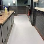 Antislip coatingvloer in horeca keuken