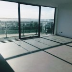 Microcement vloer appartement Almere