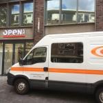 Cementgebonden gietvloer voor Open32 Enschede