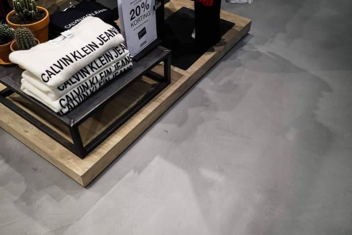 Unieke vloer: microcement