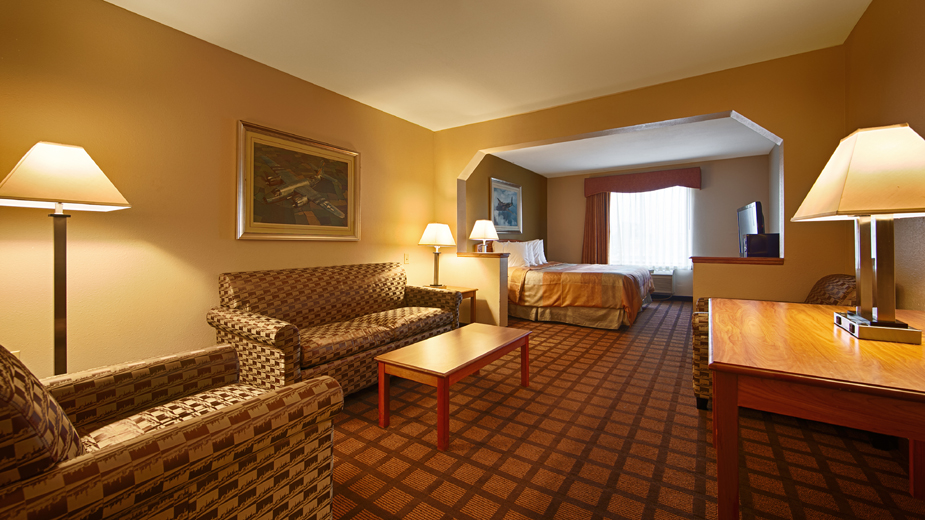 Chicago Hotel Rooms At The Best Western Midway Airport