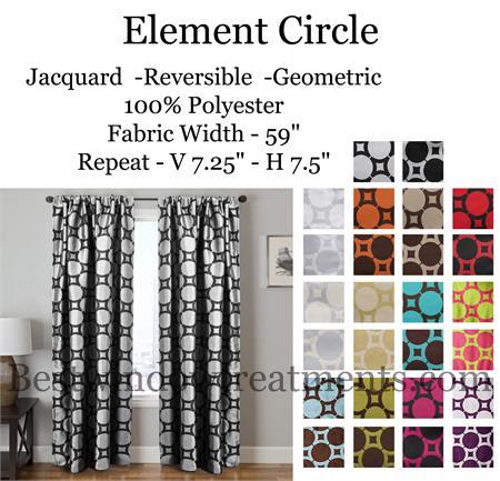 element circle curtain drapery panels www bestwindowtreatments com