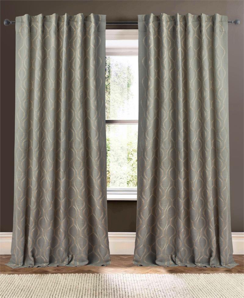 illumination jute curtain panel best window treatments