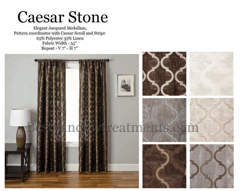 caesar stone quatrefoil moroccan trellis tile curtain panel bestwindowtreatments com