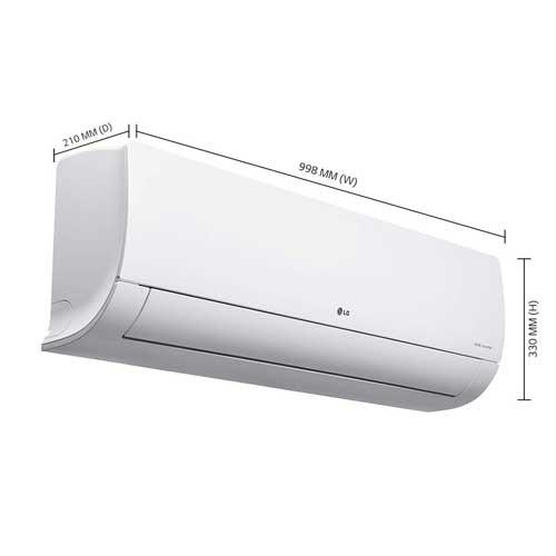 Buy LG 1.5 Ton 5 Star Dual Inverter Split AC (Copper, KS-Q18HNZD, White)